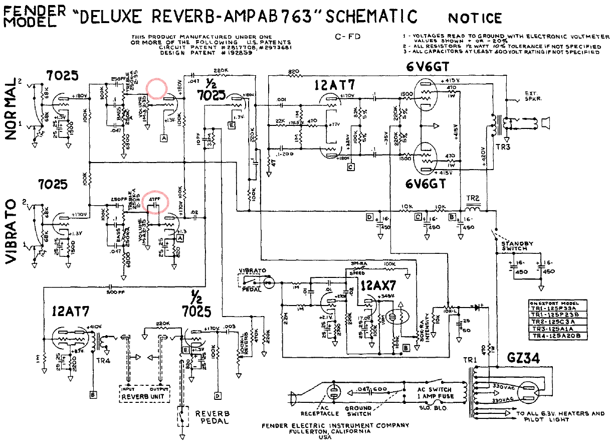 Fender Deluxe Vm Schematic - Enthusiast Wiring Diagrams • on pcb motor, pcb assembly, pcb design flow, pcb hardware, pcb flow chart, pcb test, pcb construction,