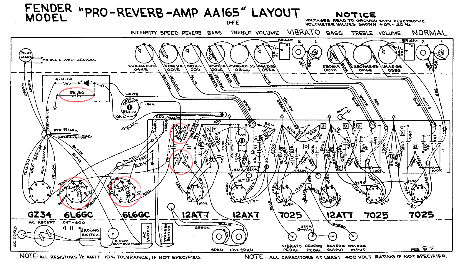 Bf Sf Pro Reverb Dual Pre Amp And A B Box Guitar Effect Schematic Diagram Click Images For
