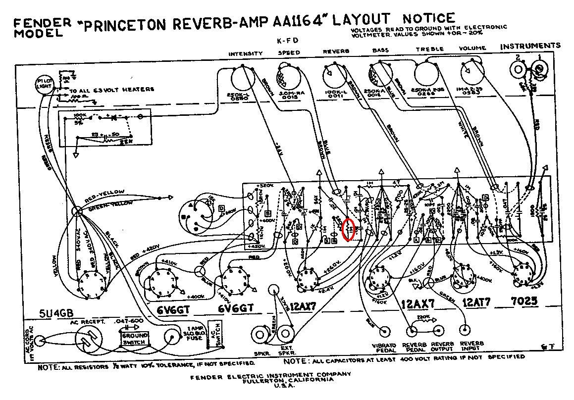 Bf Sf Princeton Reverb 69 C10 Guage Amp Wiring Diagram Layout The