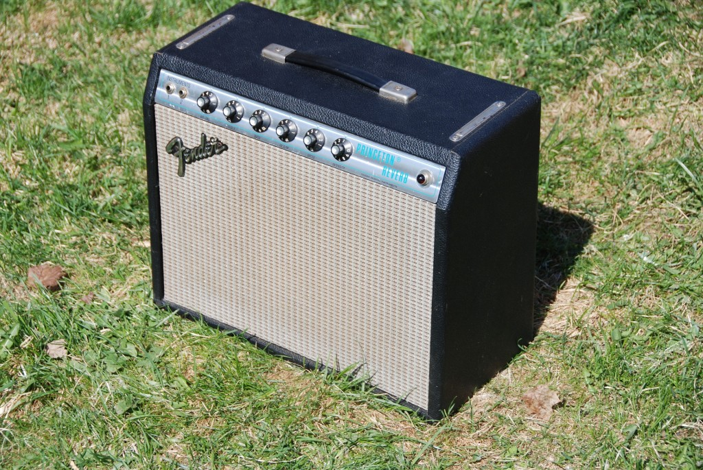 Fender Blackface Princeton Amp The Princeton Reverb is The Smallest Blackface Silverface Fender Amp With