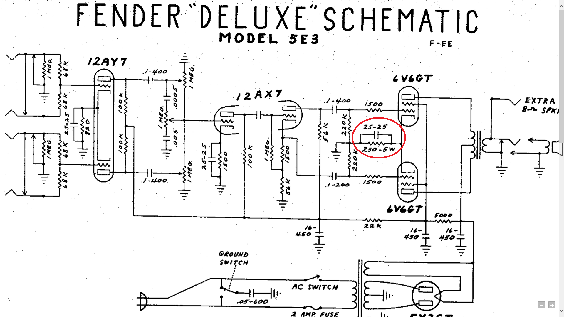 Excellent Fender Tube Amp Schematics Basic Electronics Wiring Diagram Wiring 101 Vieworaxxcnl
